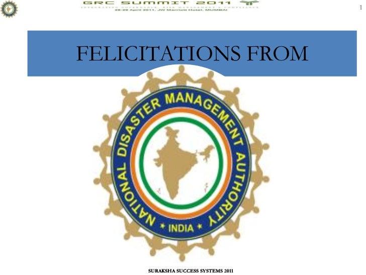 1FELICITATIONS FROM     SURAKSHA SUCCESS SYSTEMS 2011