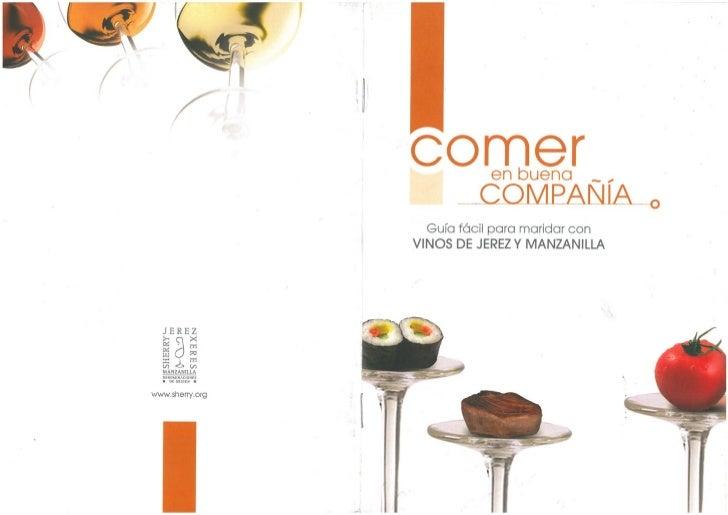 Maridaje con vinos de Jerez