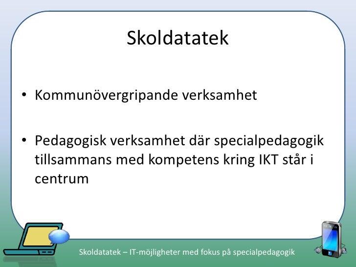 Skoldatatek presentation