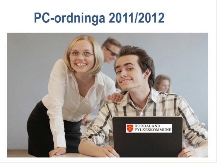 Skolestart elever 2011 - pc info