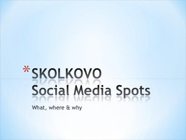 SKOLKOVO Social Media Sites