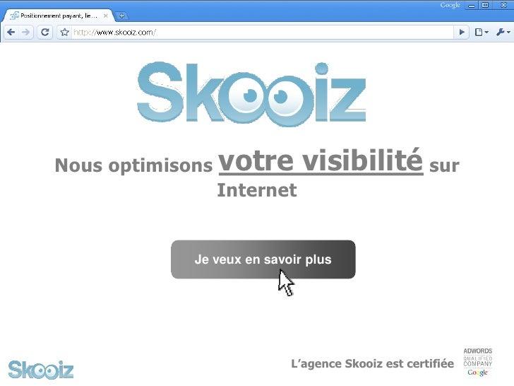 Nous optimisons   votre visibilité sur                   Internet                Je veux en savoir plus                   ...