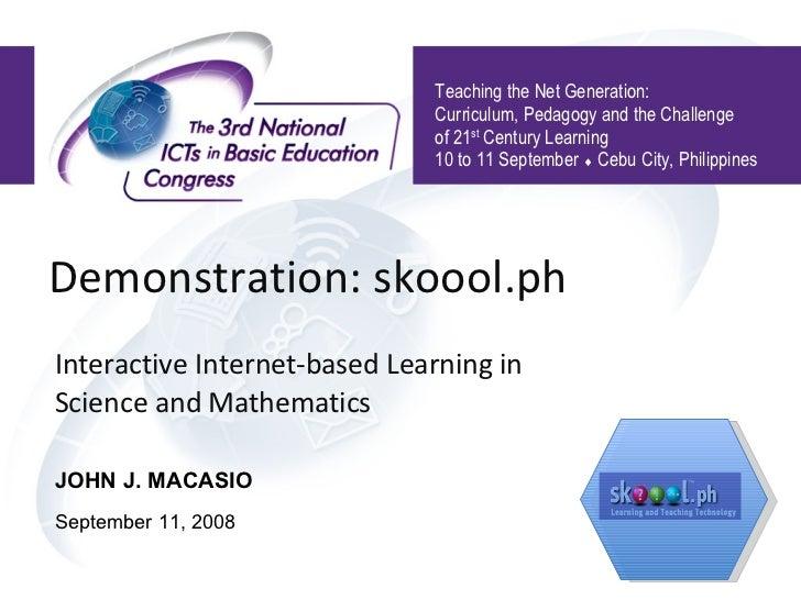 Skooolph Congress2008