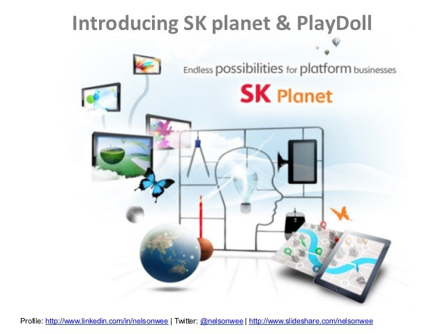 SK planet intro PlayDoll for Singapore Book Council Publishers Writers Night 6 Nov 2012