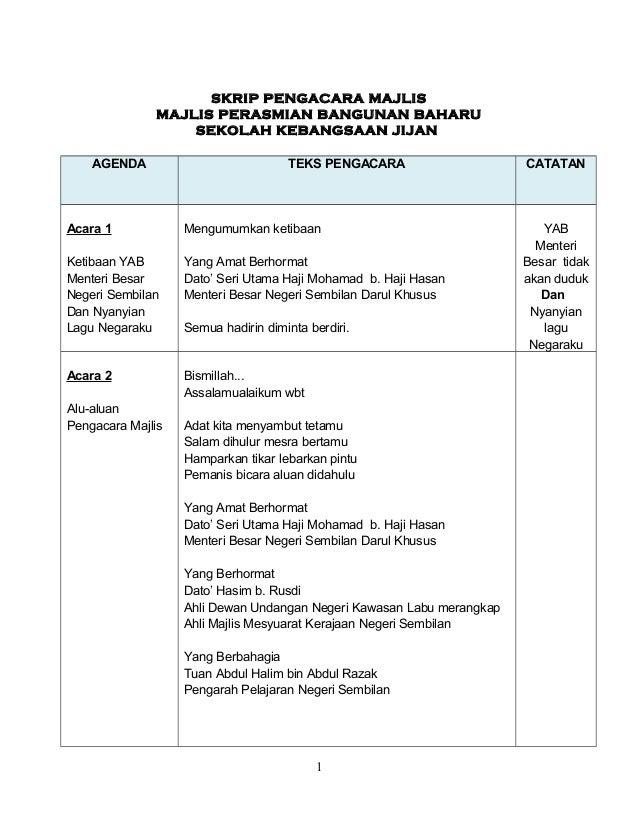 Teks Pengacara Majlis Perhimpunan Sekolah Dalam Bahasa Arab Perokok Z