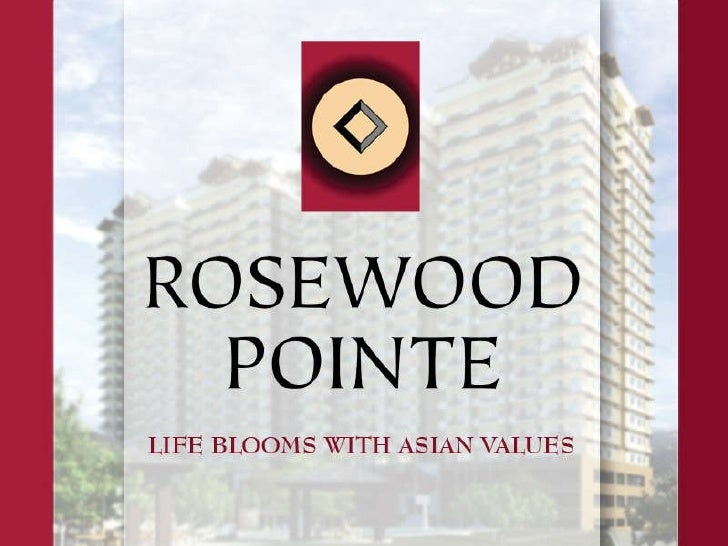 ROSEWOOD POINTE - located at C-5/C-6 near the Global City, Taguig City