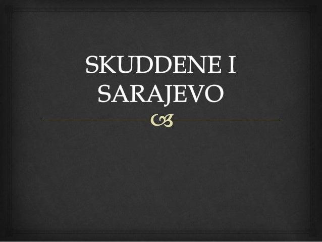   28. juni 1914 er erkehertug Franz Ferdinand av Østerrike Ungarn og fruen Sofie på statsbesøk i Sarajevo.  Byen er ful...