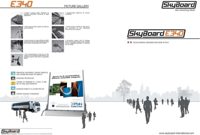 The SkyBoard E340