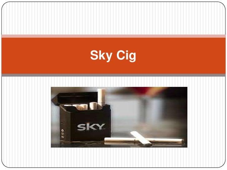 Sky cig presentation