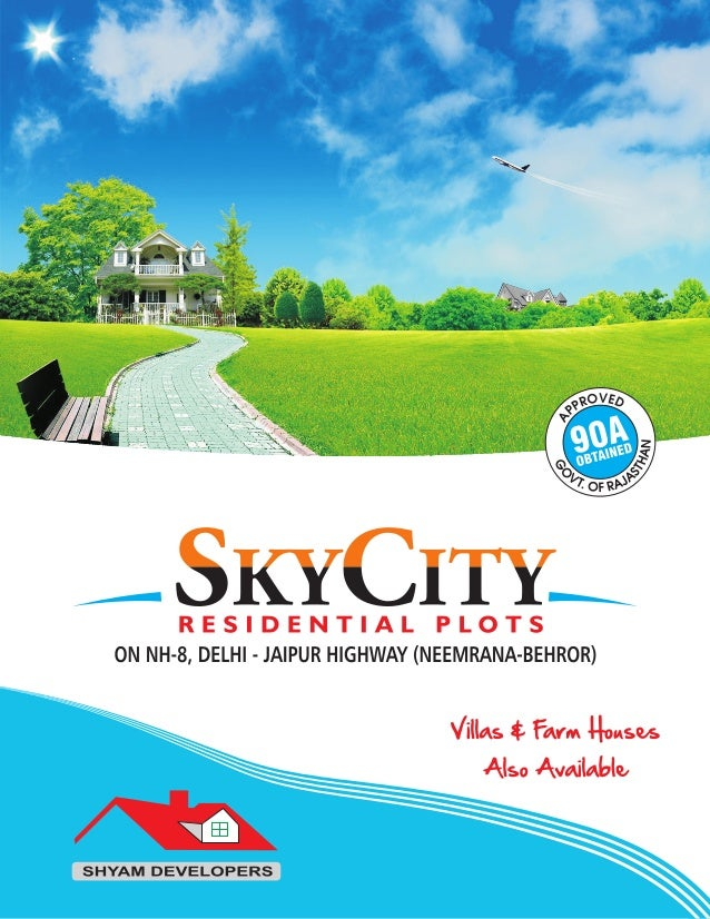 Sky City Plots Resale Start,8459137252