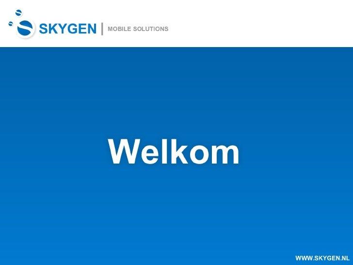 Skygen Presentatie
