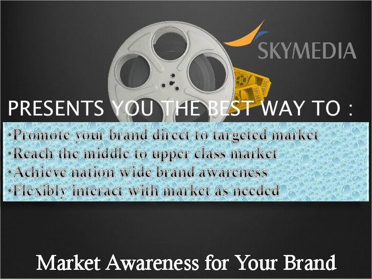Sky media advertising