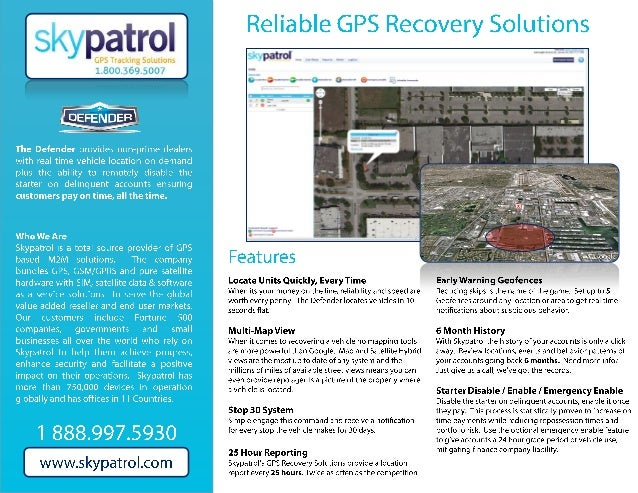 bhph GPS Recovery system