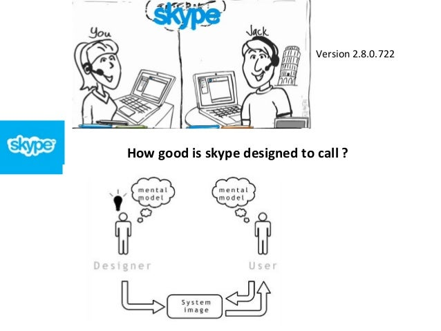 How good is skype designed to call ? Version 2.8.0.722