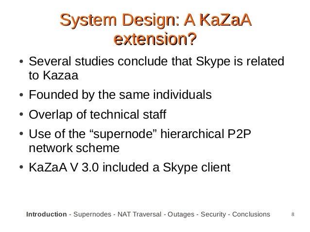 p2p case study skype