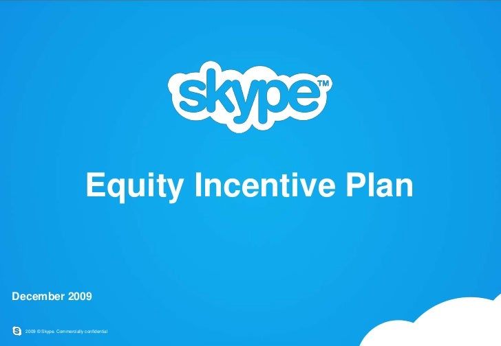 Skype stock options