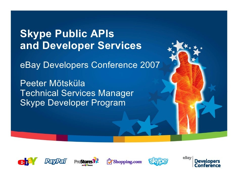 Skype Public APIs and Developer Services