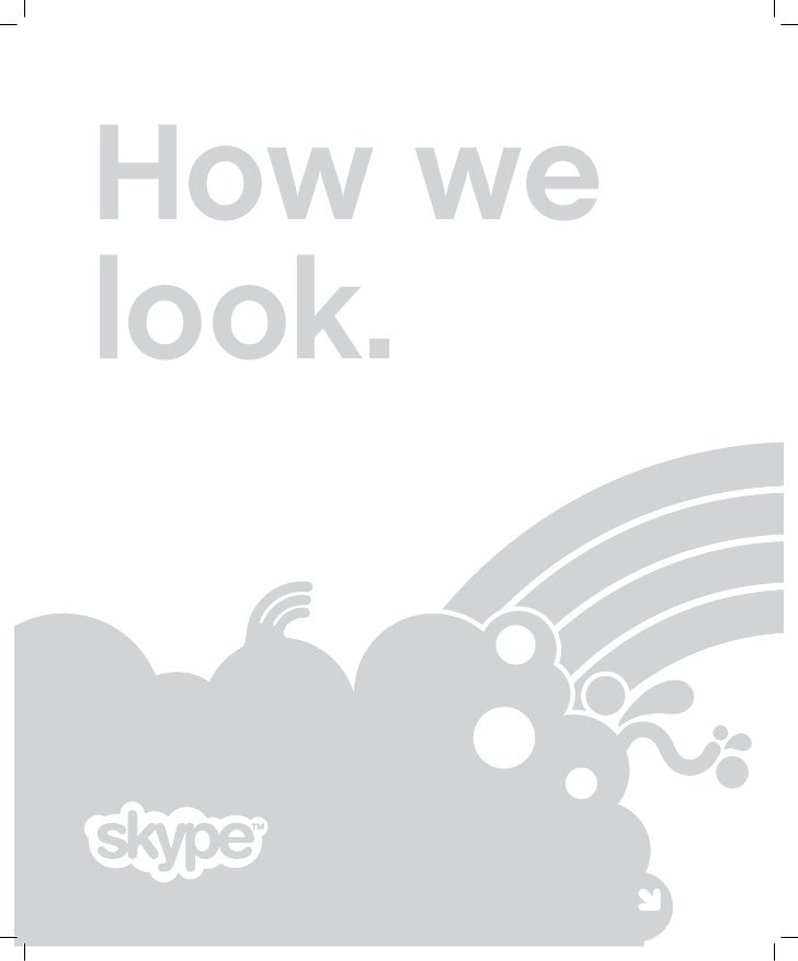 Skype- corporate identity_ how do we look