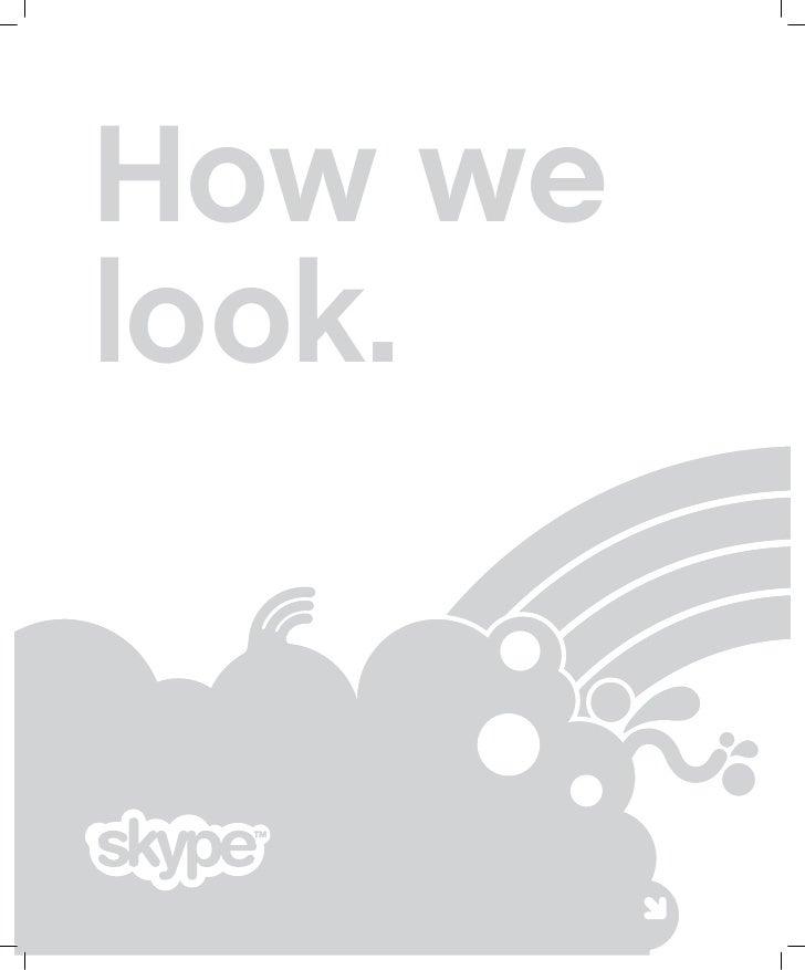 Skype Brandbook