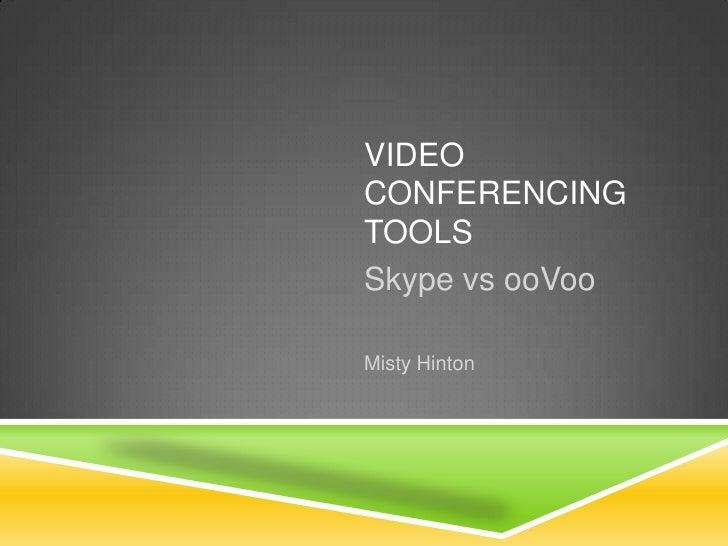 Skype vs ooVoo