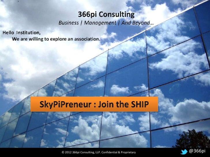 Skypipreneur Institution