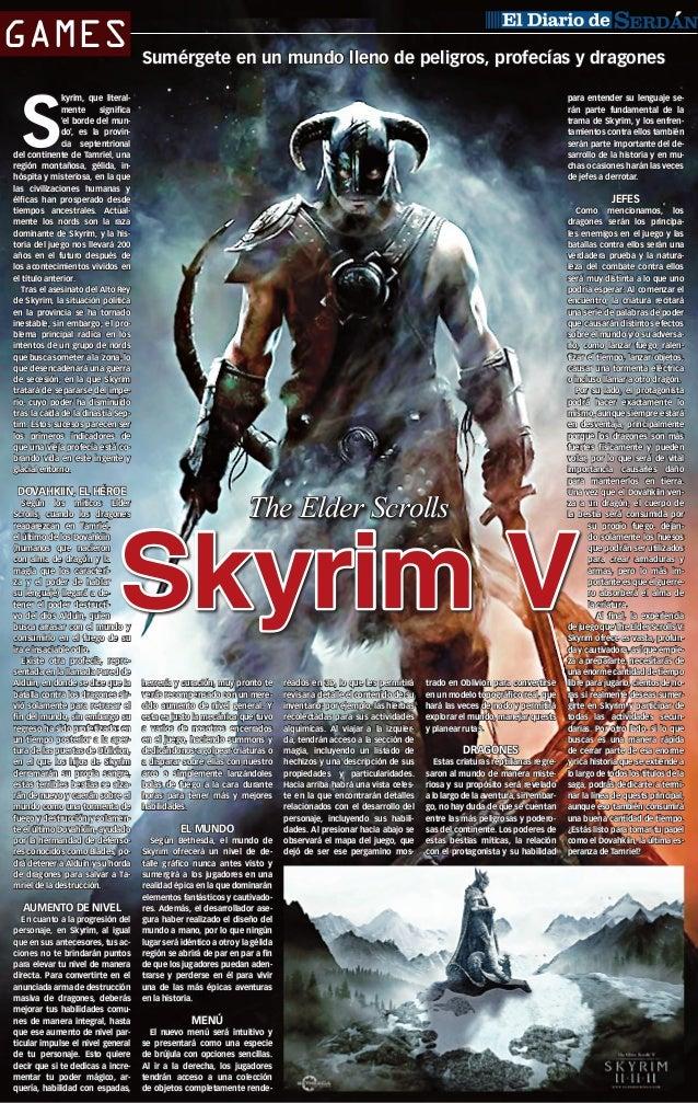 Skyrim V cover