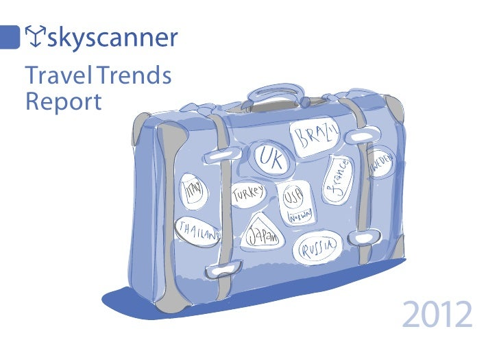 Skyscanner travel trends 2012