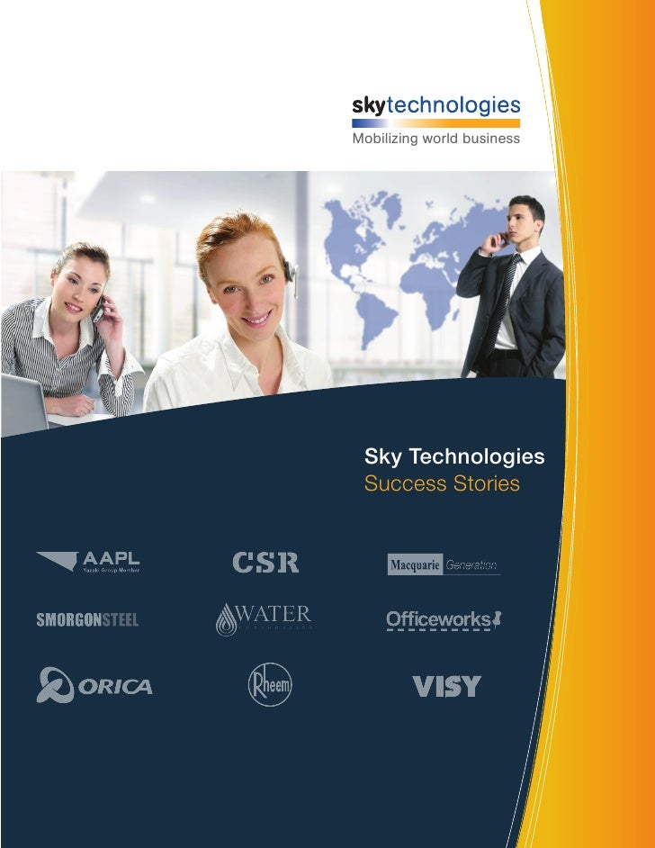 Mobilizing world business                         Sky Technologies                         Success StoriesWATERC O R P O R...