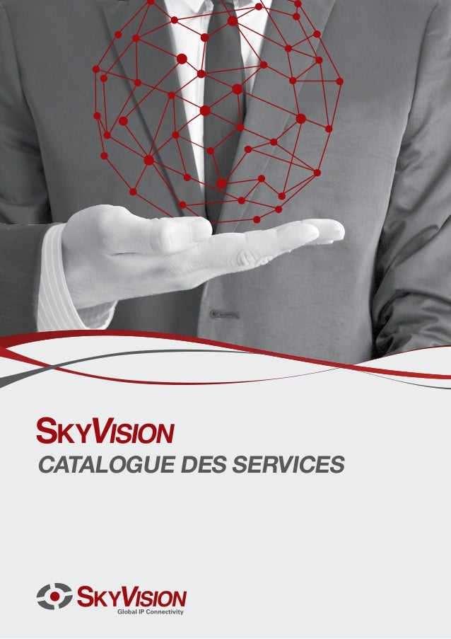 Catalogue des services de SkyVision French