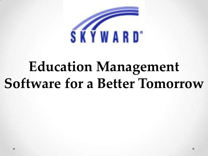 Education ManagementSoftware for a Better Tomorrow