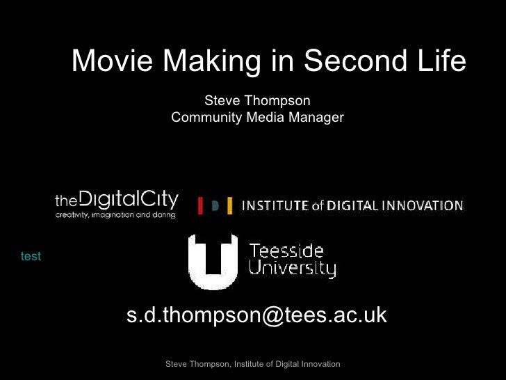 Second Life Movies