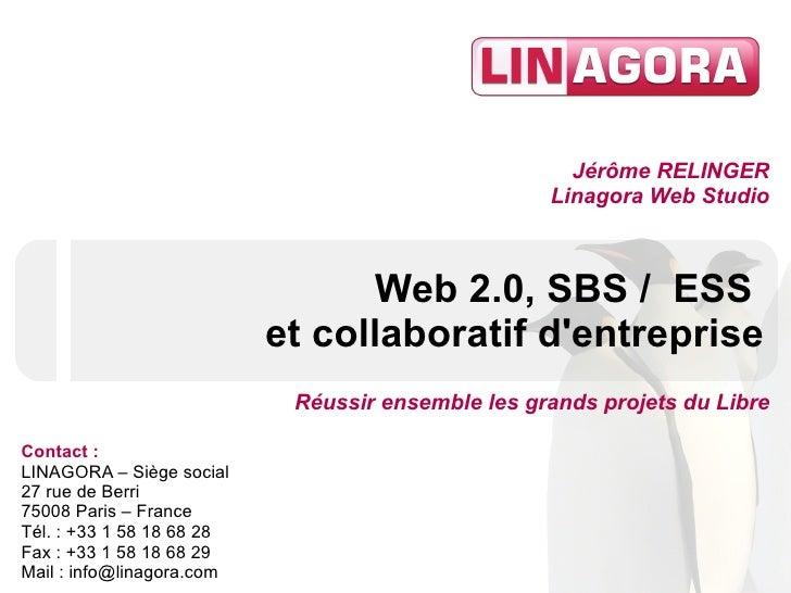Jérôme RELINGER                                                    Linagora Web Studio                                    ...