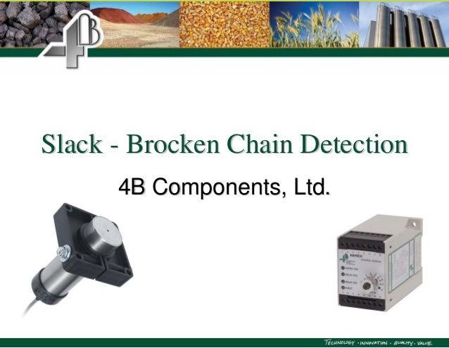 SlackSlack -- Brocken Chain DetectionBrocken Chain Detection4B Components, Ltd.4B Components, Ltd.