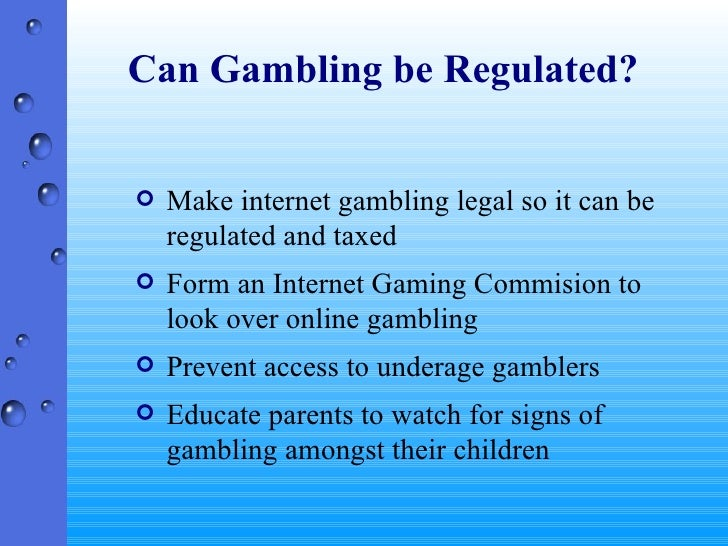 Need a thesis statement for the christian view on gambling?