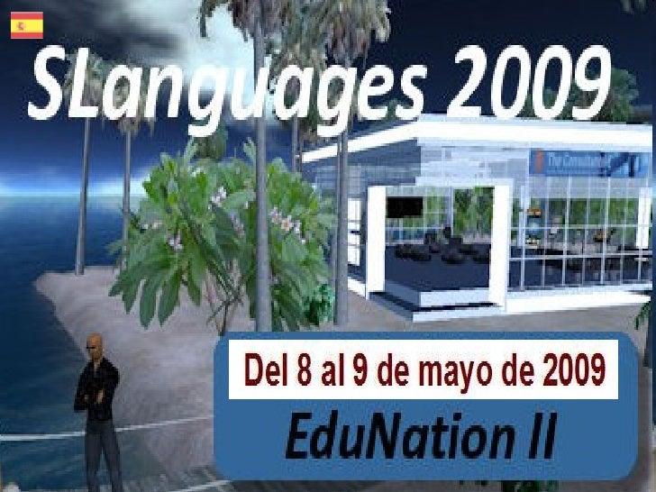 SLanguages es la conferencia de enseñanza de idiomas en mundos virtuales