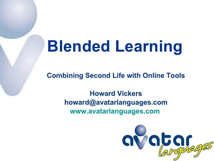 SLanguages2008   Blended Learning