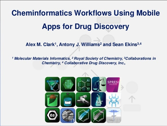 Cheminformatics Workflows Using Mobile Apps for Drug Discovery