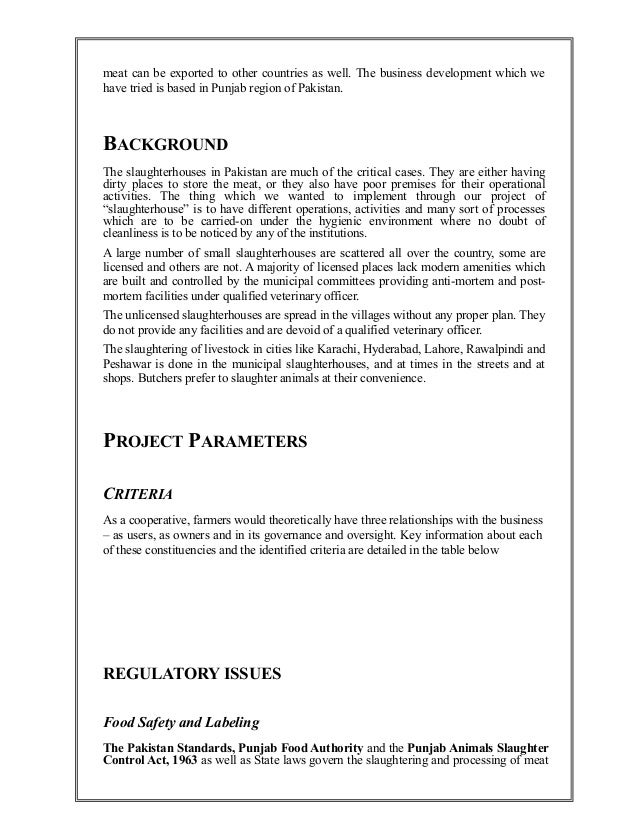 pizza house feasibility study Feasibility study: marketing , technical and management aspect 1 marketing aspect the marketing is considered the most important area.