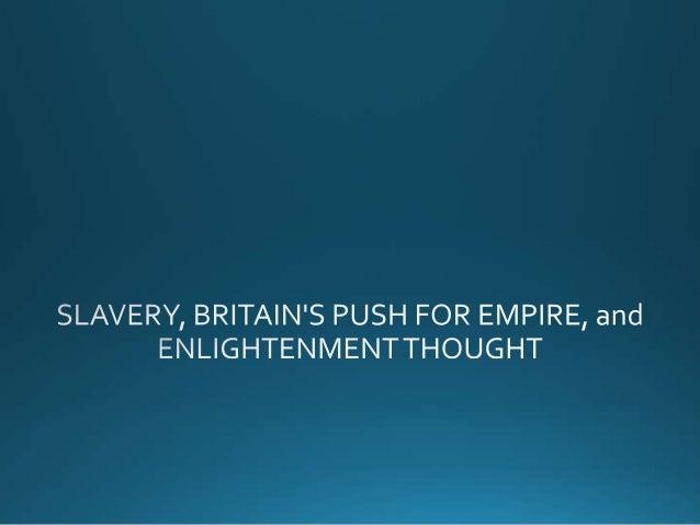 Slavery, freedom, and empire