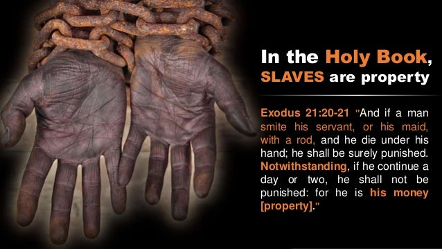 an analysis of the problems of religion and slavery Below you will find three outstanding thesis statements / paper topics for the narrative of the life of frederick douglass an american slave here is an excellent extended analysis and summary of narrative of the representations of christianity and religion in narrative of the.