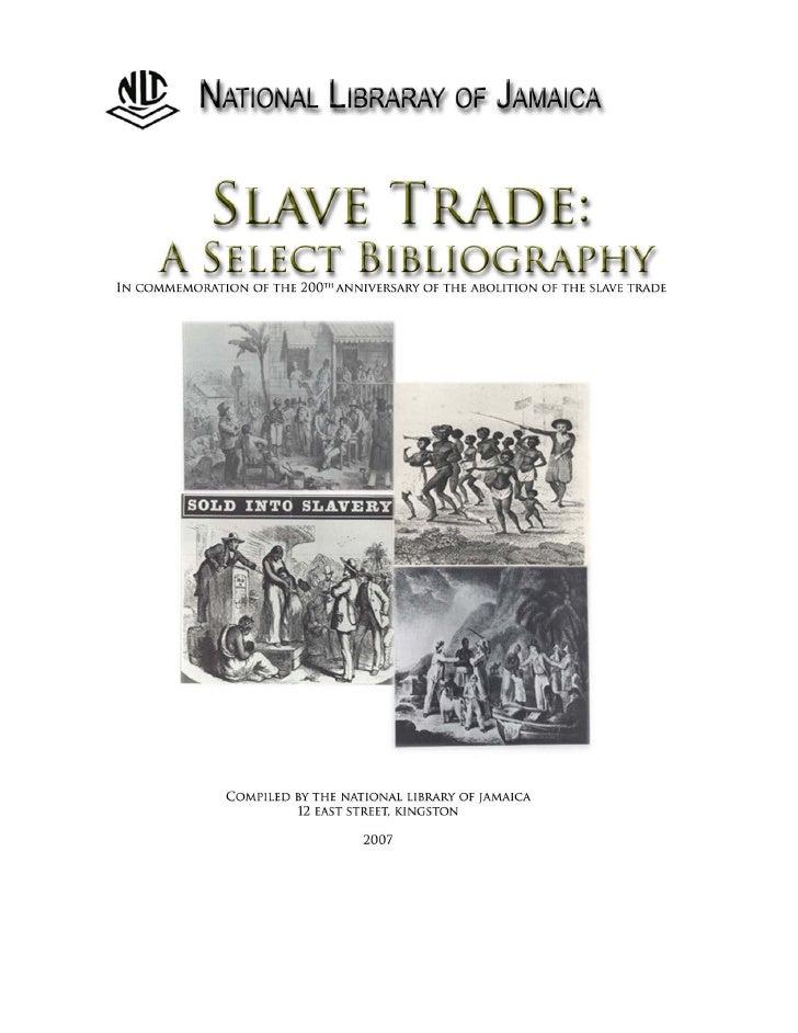 Slave Trade Bibliography