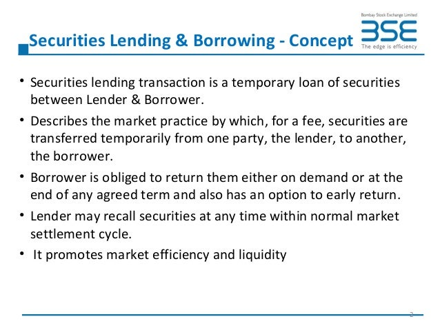 the practice of borrowing amongst high