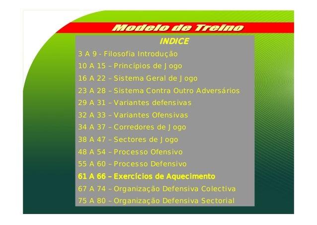 Sl Benfica modelo de jogo para a formação