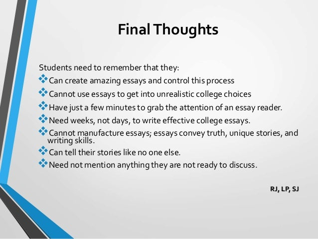 effective college essay 1 thesis: an essay's main proposition a thesis should not be confused with a topic, which represents only the subject area of an essay a good thesis must be.