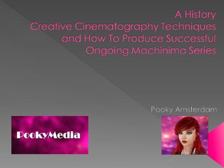 SLCC 2010 Machinima Presentation - History, Techniques & Producing a Series