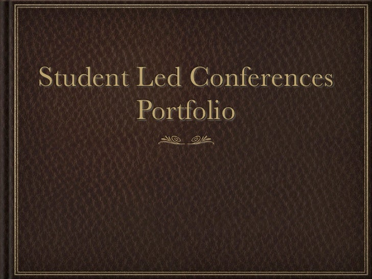 Student Led Conference - Morena