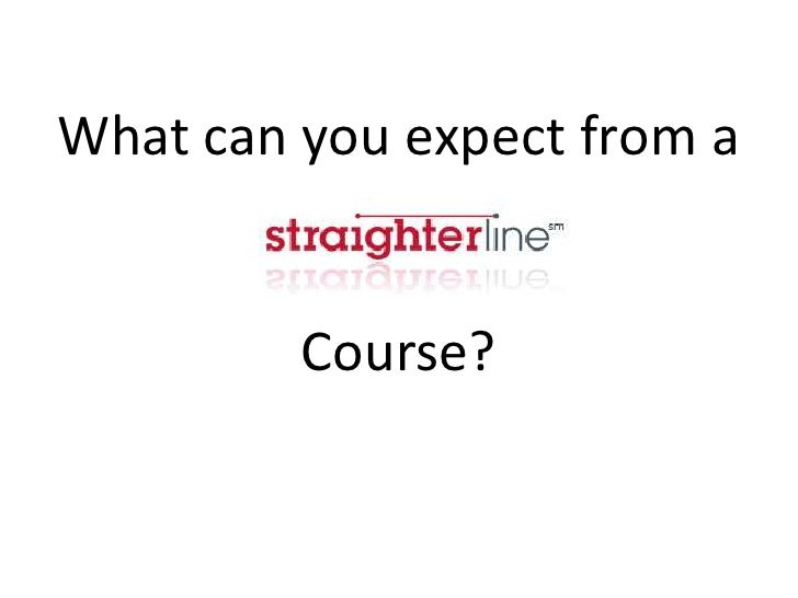 What can you expect from aCourse?<br />