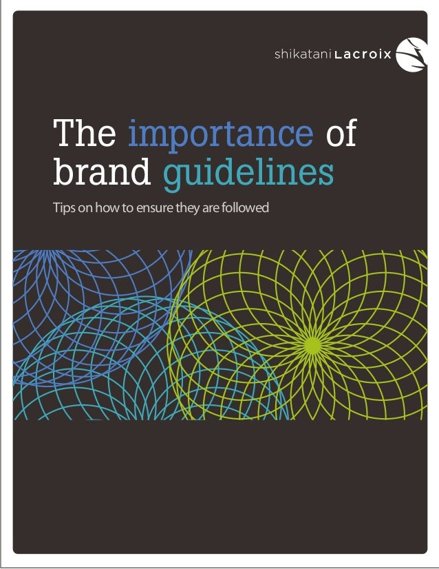 The importance of brand guidelines