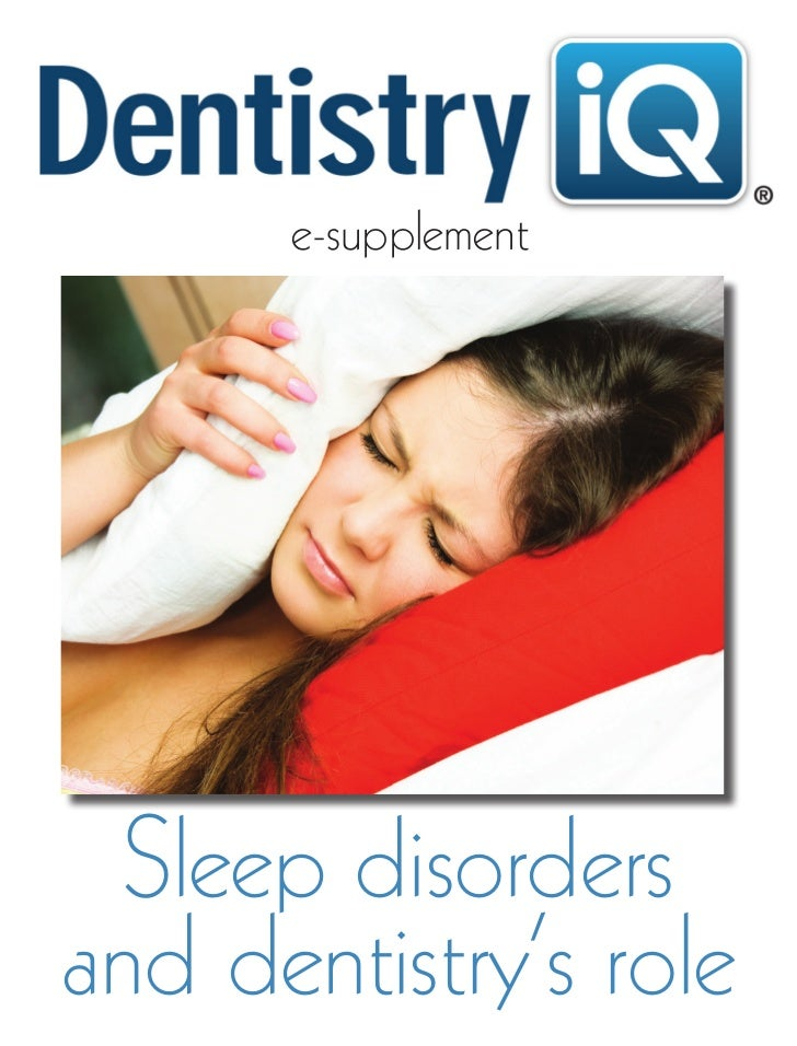 e-supplement  Sleep disordersand dentistry's role