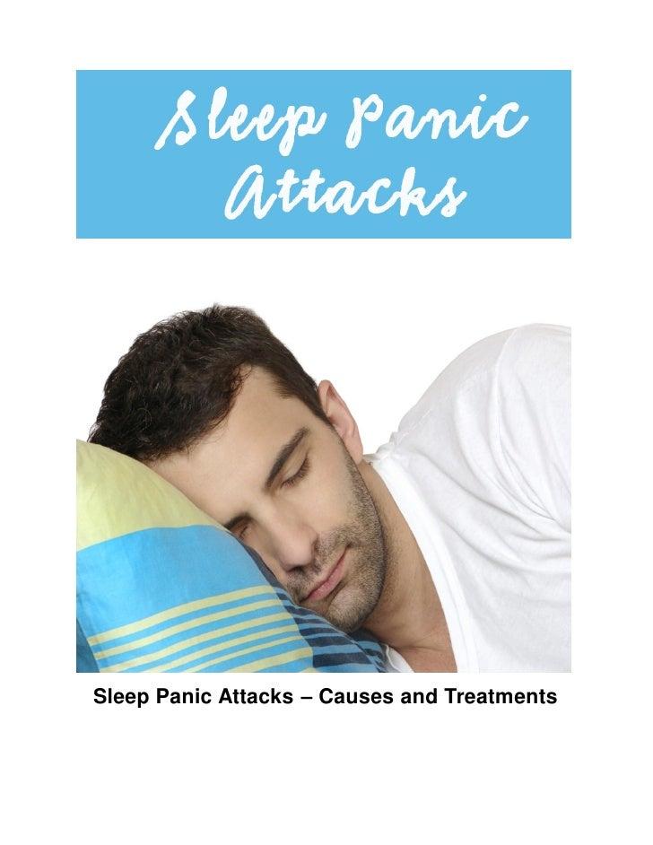 Sleep Panic Attacks – Causes and Treatments
